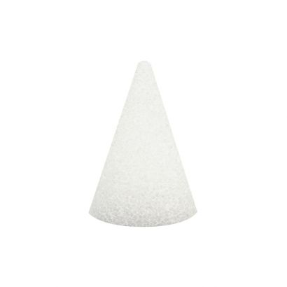 3 x 2 inch Small Styrofoam Cone
