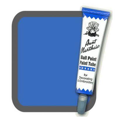 Aunt Martha's Ballpoint Paint Tube Blue
