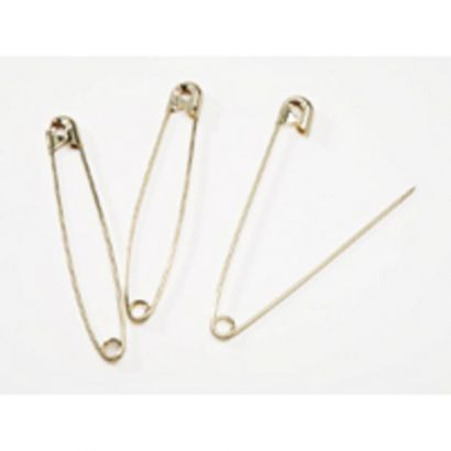 2 inch gold safety pins