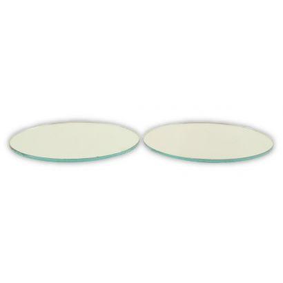 3 inch round mirrors