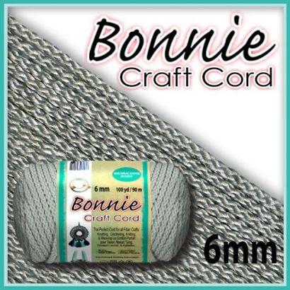 6mm Shadow Grey Macrame Cord
