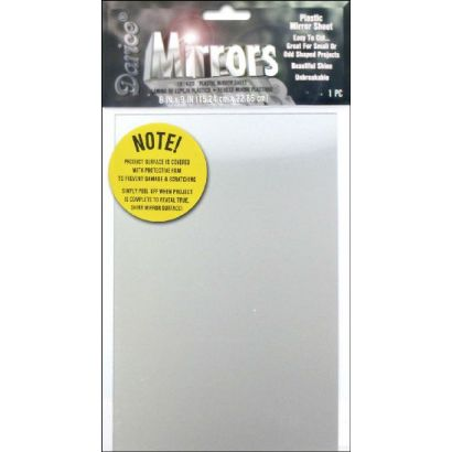 Rectangle Acrylic Plastic Mirror Sheet