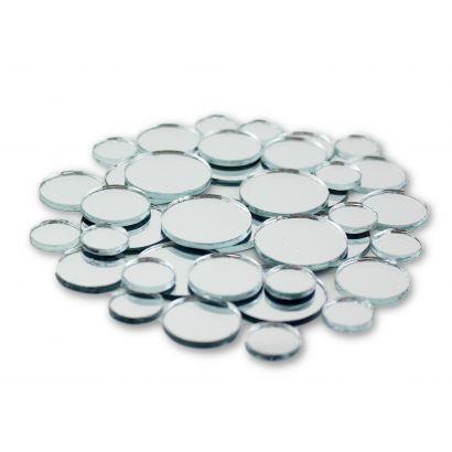 mini round craft mirrors bulk