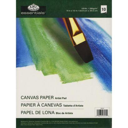 9 x 12 Inch Essentials Canvas Paper Pad 181 lb. 10 Sheets