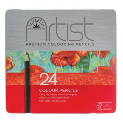 fantasia colored pencil set 24 colors PRO 3170