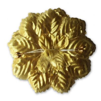 Gold Capia Flowers Flat Carnation Capia Base for Corsages