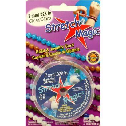 0.7mm Clear Stretch Magic Bead & Jewelry Cord