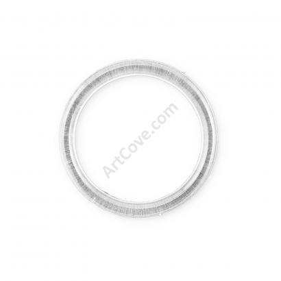 3 Inch Clear Plastic Ring ArtCove
