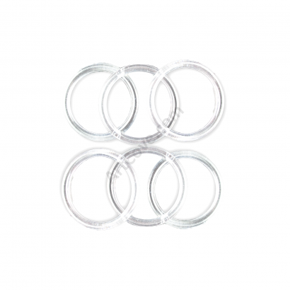 3 Inch Clear Acrylic Rings ArtCove