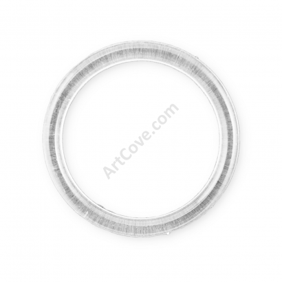 5 Inch Clear Plastic Ring ArtCove