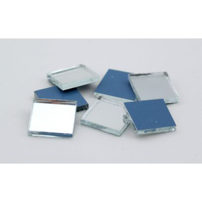 0.5 inch Mini Square Craft Mirrors Bulk