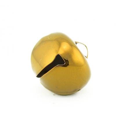 1.25 Inch 30mm Gold Large Jumbo Jingle Bells Bulk