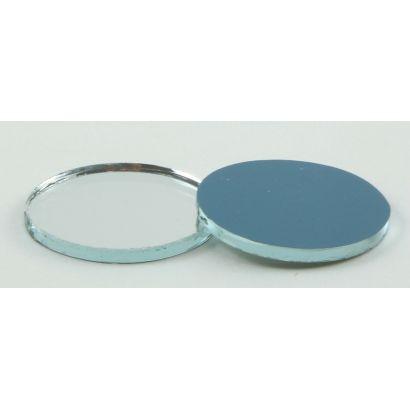 1/2 inch round craft mirrors