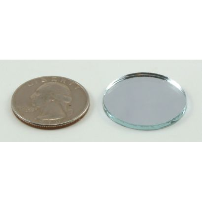 1 inch round craft mirrors