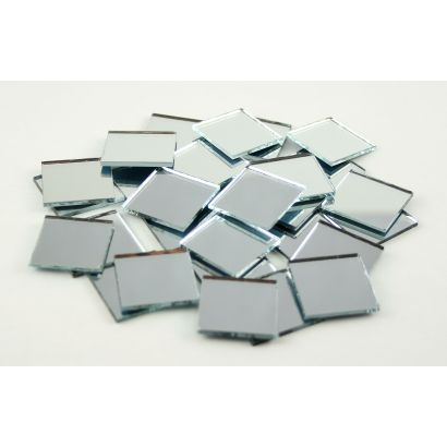 1 inch Mini Square Mirrors Bulk