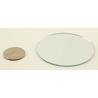 2.5 inch round craft mirrors