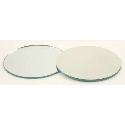 2 inch round glass mirrors
