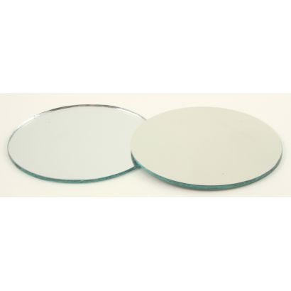 2 inch round craft mirrors bulk
