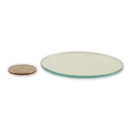 3 inch round craft mirrors