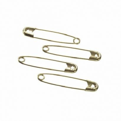 size 3 gold safety pins