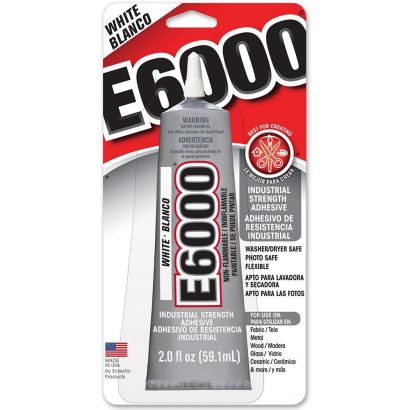 E6000 Industrial Strength Adhesive 2oz white