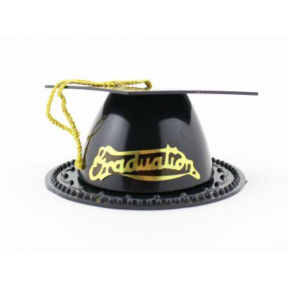 3.5 Inch Mini Black Graduation Cap Favor Boxes