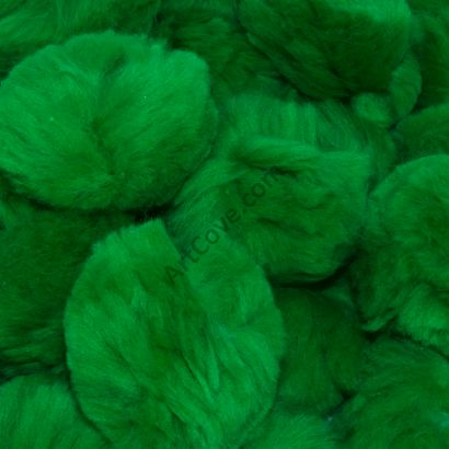 kelly green craft pom pom balls bulk 1.5 inch