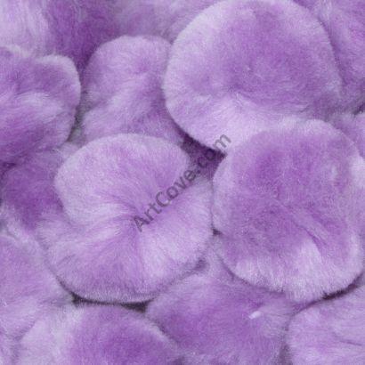 1-1/2 inch Lavender Craft Pom Poms