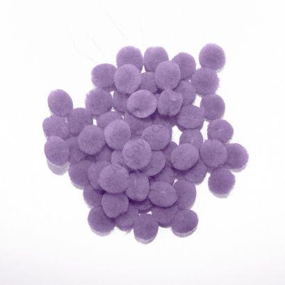 lavender craft pom pom balls bulk .75 inches