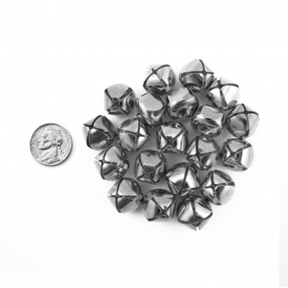 20mm Craft Silver Jingle Bells Bulk Wholesale