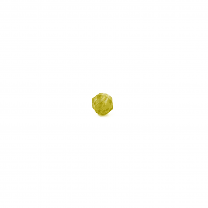 yellow faceted beads bulk single