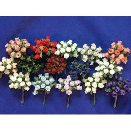 Craft Rose Gold Mini Buds Flowers